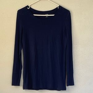 Basic blue navy long sleeve
